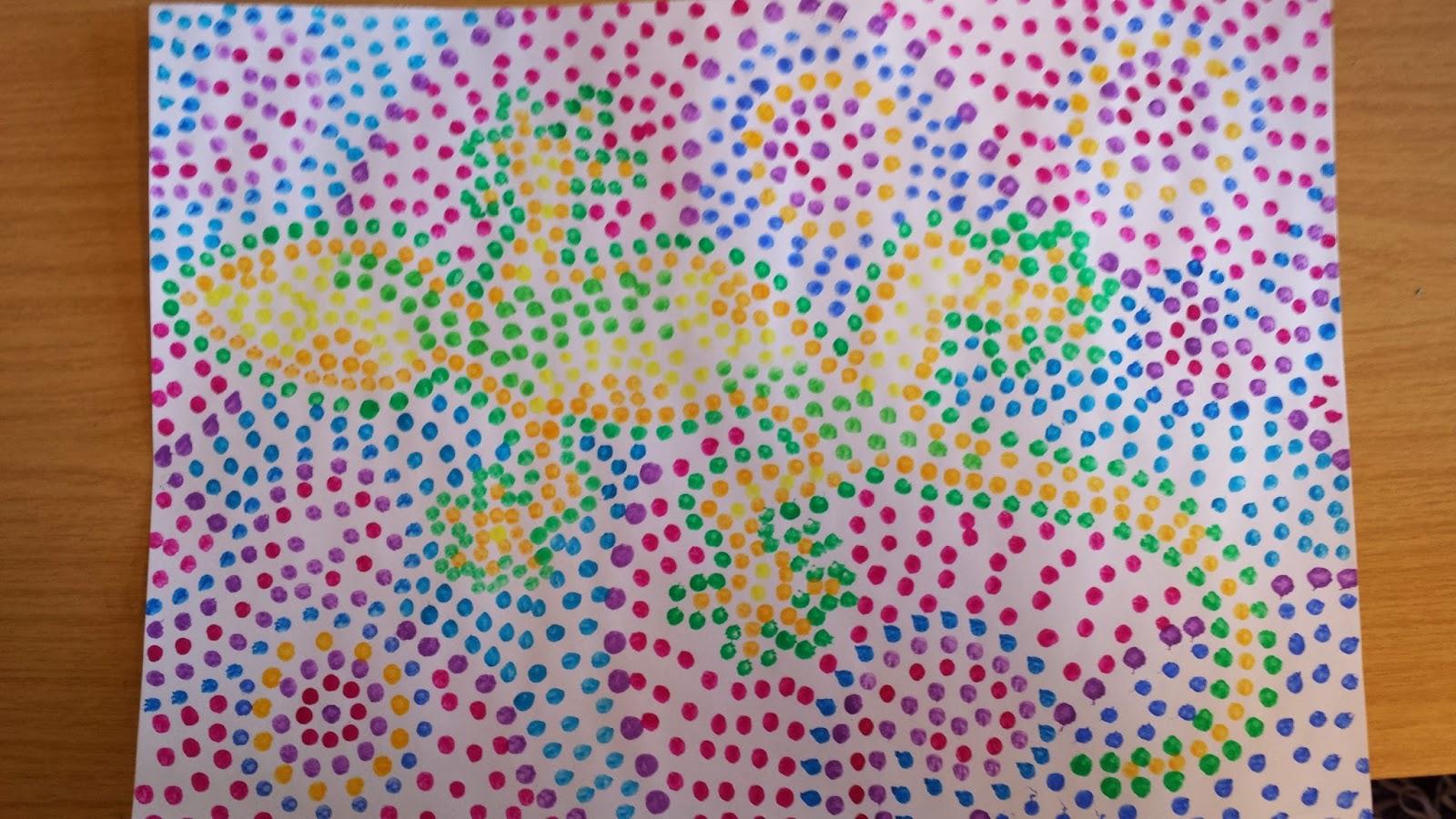 Klasse(n)Ideen: Dot-Painting