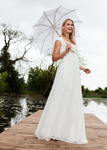 Lindos vestidos de novias para embarazadas | Colección Gorgeous