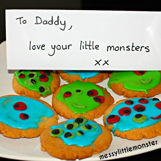 fathers day gift for daddy love your little monsters