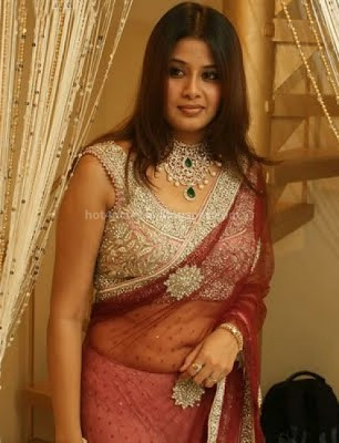 bollywood, tollywood, hot, Sangeetha, navel, in, transsparent, saree