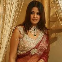 Sangeetha in saree