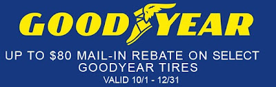 goodyear tire coupon rebate