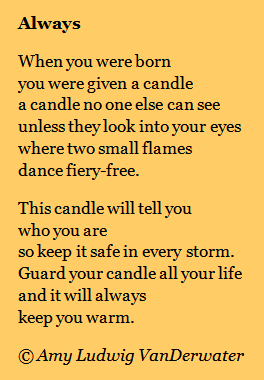 The Poem Farm A Candle No One Else Can See