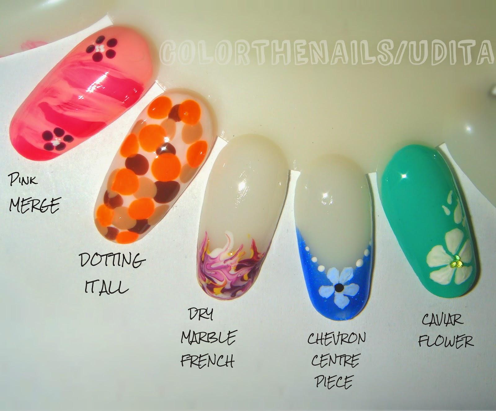 Easy nail designs no tools easy nail designs no tools toothpick nail designs nail art without tools no tools nail prinsesfo Images