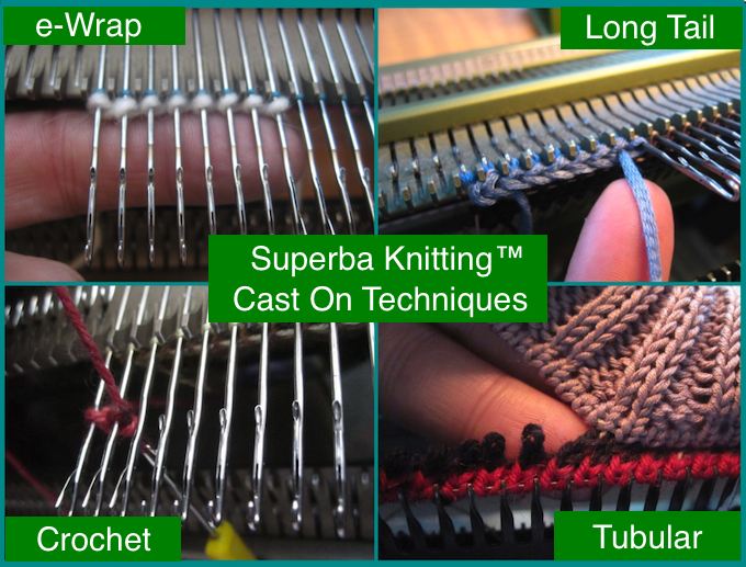 Knitting Long Tail Cast On Method : Superba knitting™ review of cast on methods for home