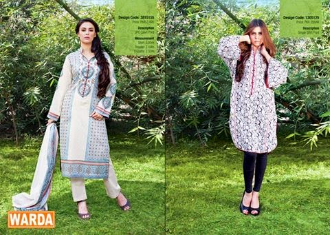 Warda cute summer lawn collection 2015