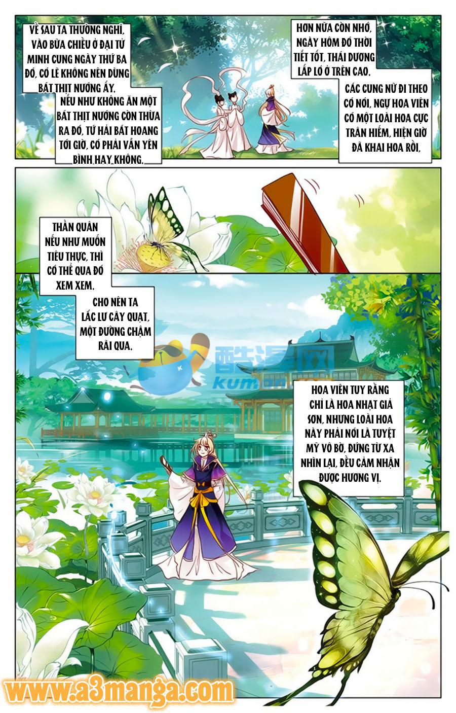 Tam Sinh Tam Thế Thập Lý Đào Hoa Chap 7.2