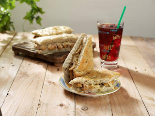 Starbucks Zesty Chicken with Bacon Caesar Dressing on Focaccia Bread