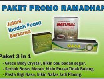 paket-promo-produk-nasa-bulan-ramadhan-serbuk-beras-merah-natural-sbmn-grece-pasta-gigi-nasa-pgn