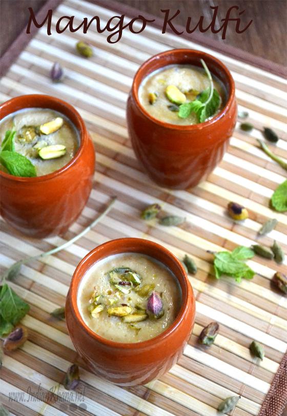கொல்லூர்  மூகாம்பிகை Mango+Kulfi+Recipe