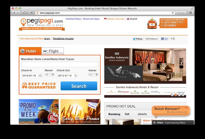 pegipegi Best Travel Startup in Indonesia