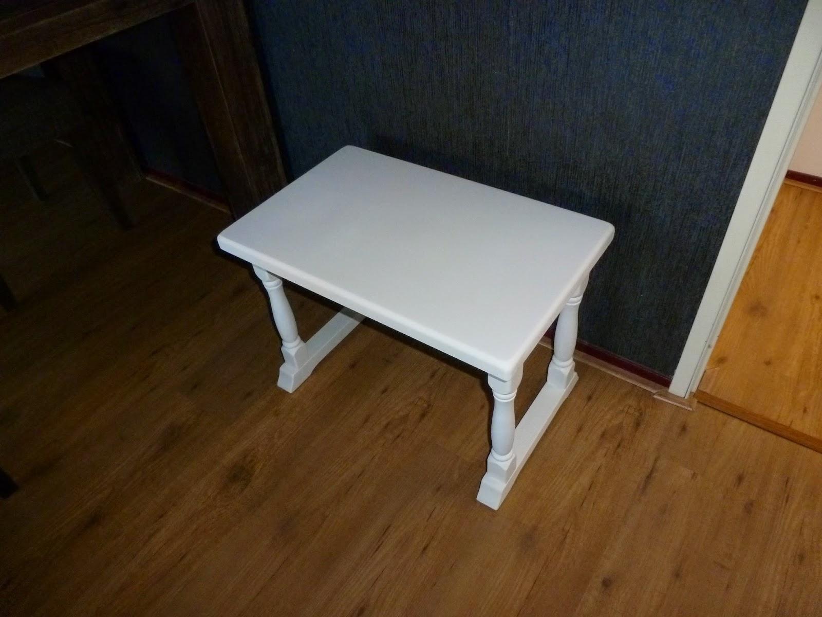 Hoe Een Eiken Keuken Schilderen : als hobby: Hoe maak je zelf een oud eiken tafeltje brocante wit