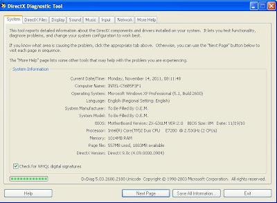 Cara Melihat Spesifikasi Hardware di Windows dengan Dxdiag