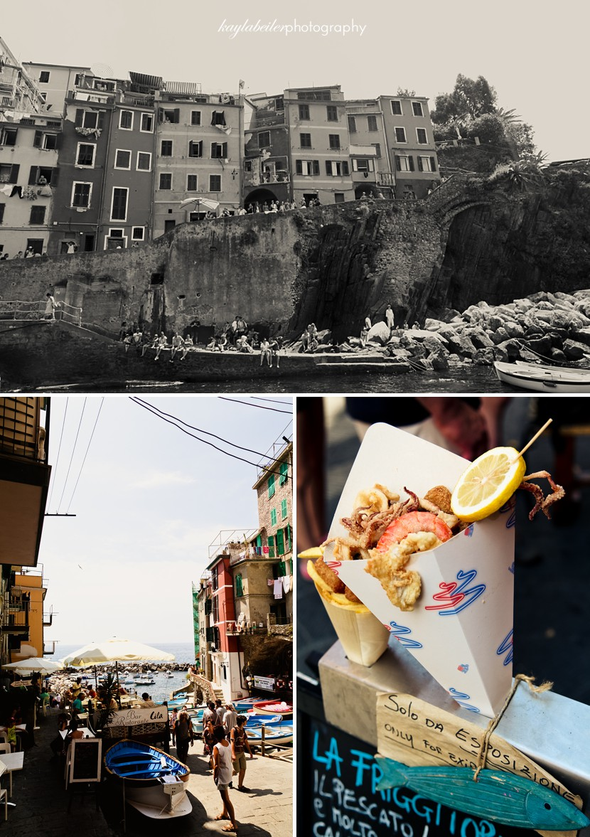 town of manarola photo