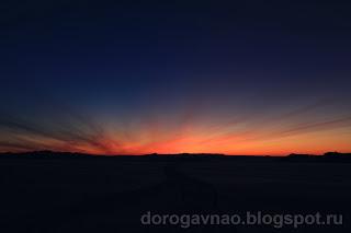 Начало пути, центральный Вайгач. Остров Вайгач. Ненецкий автономный округ. Природа НАО.