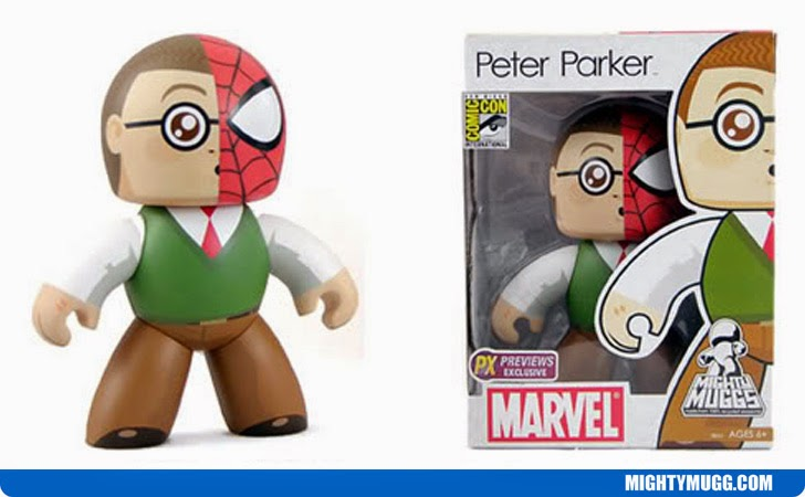 Peter Parker Spider Man Marvel Mighty Muggs Exclusives