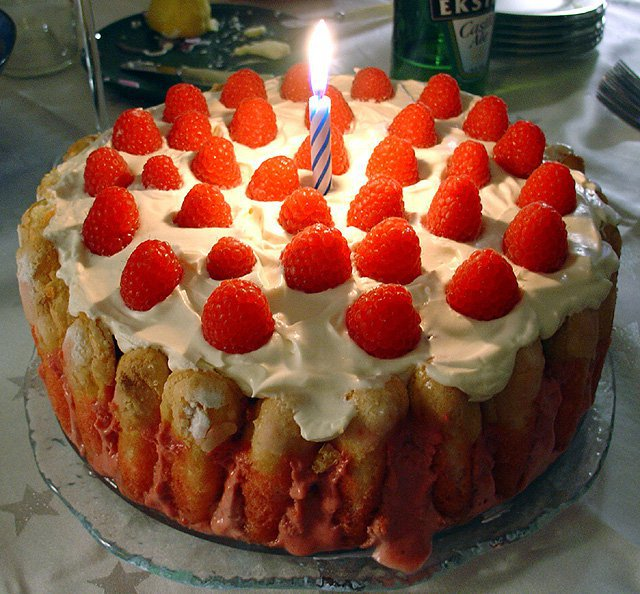 Strawberry Cake Wallpaper