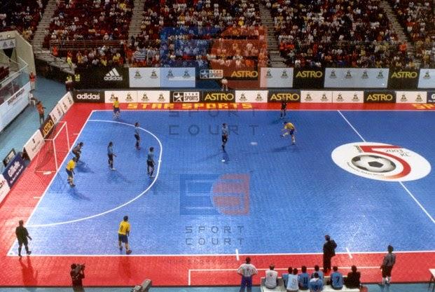 Futsal di Parepare Ribut