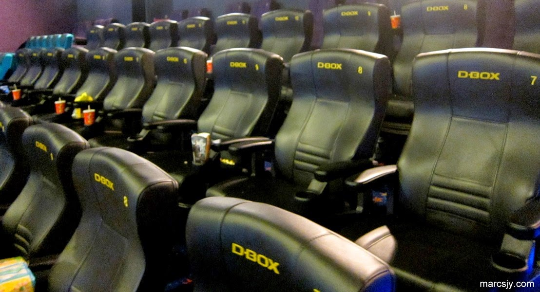 Experience with D-BOX Motion at Golden Screen Cinemas for Penguin Of Madagascar (2014)