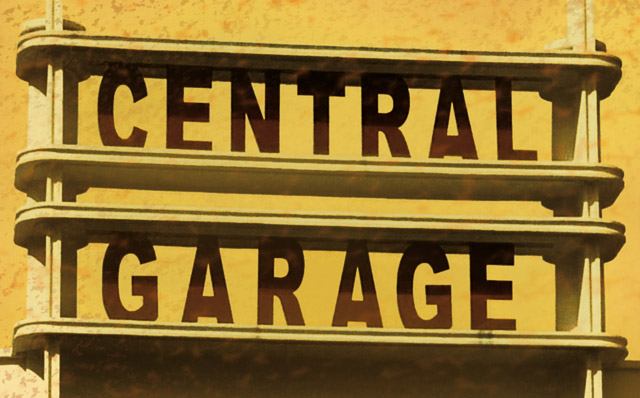 Central Garage (détail) by Regis Lagoeyte
