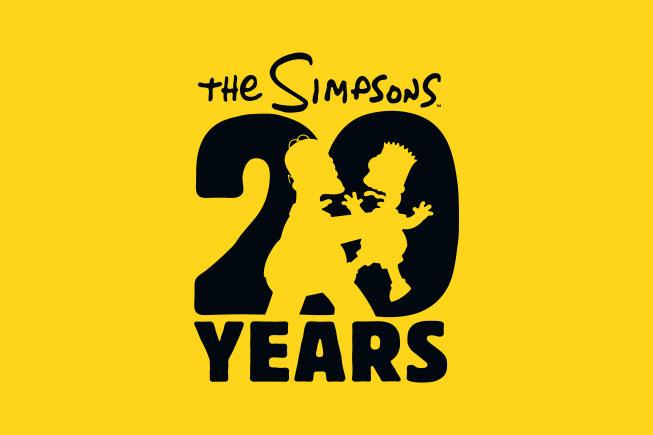 Contemos con imagenes. Simpsons20years