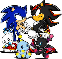 SONIC Y SHADOW THE HEDGEHOG
