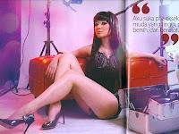 Foto Disa Oriana di Majalah Popular