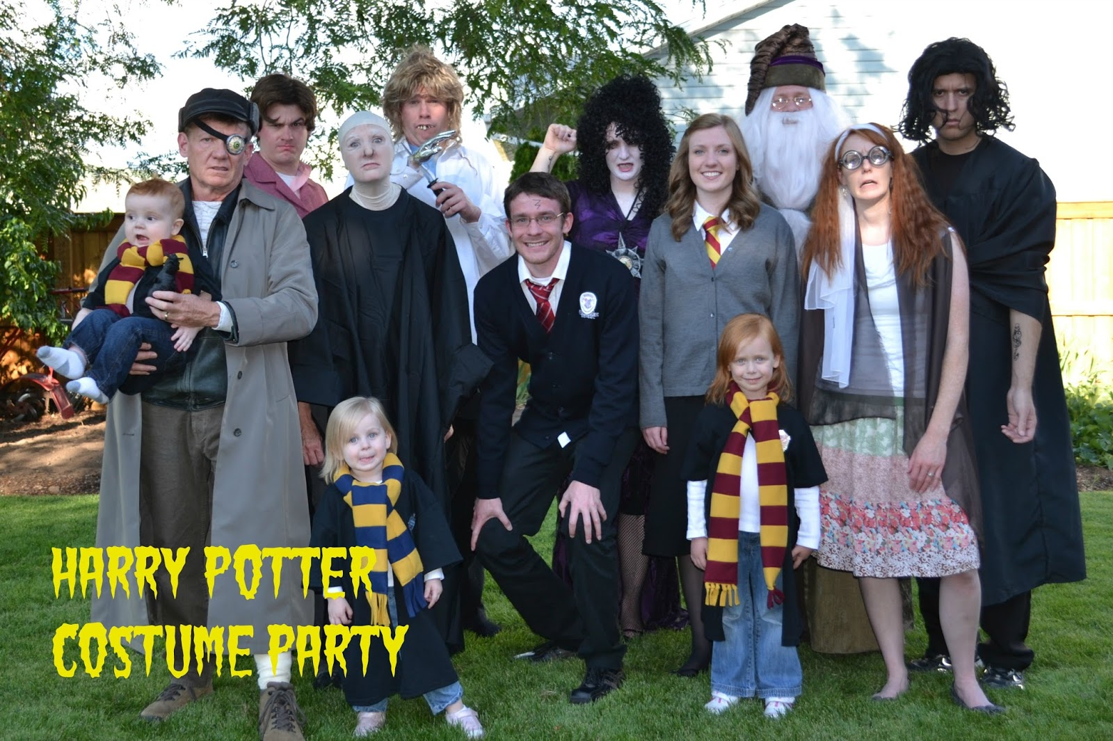 Pinning with Purpose: Harry Potter Party - Master List
