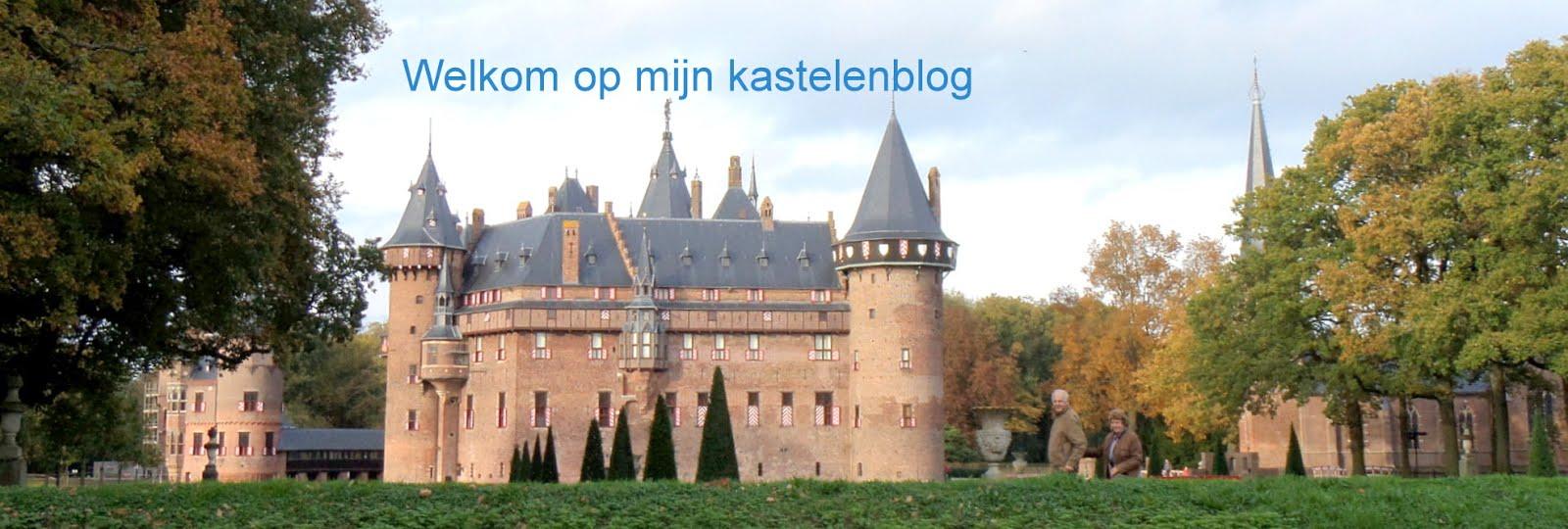 Welkom op mijn kastelenblog