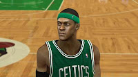 NBA2K12 The most accurate Rajon Rondo Cyber face Patch