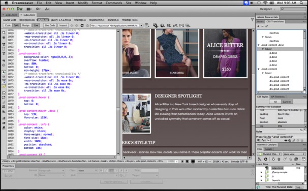 Tentang Adobe Dreamweaver CS6