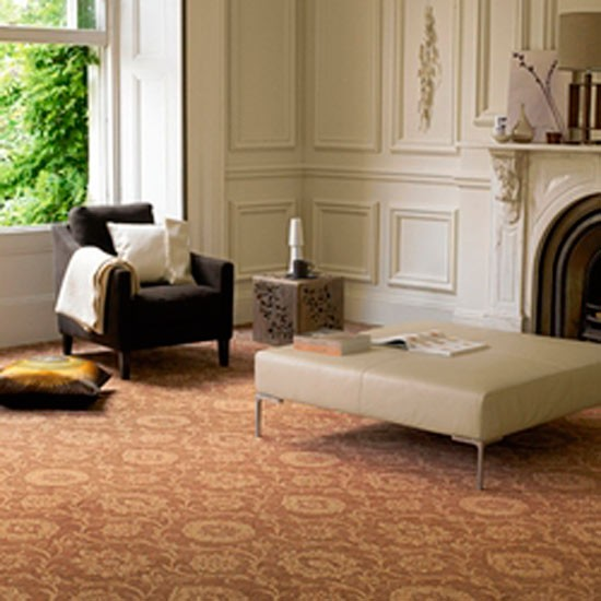 New Home Interior Design Patterned Carpet Ideas