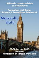 Se former à la méthode constructiviste TALENTS & TRANSITIONS PATCHWORK en Français à Londres