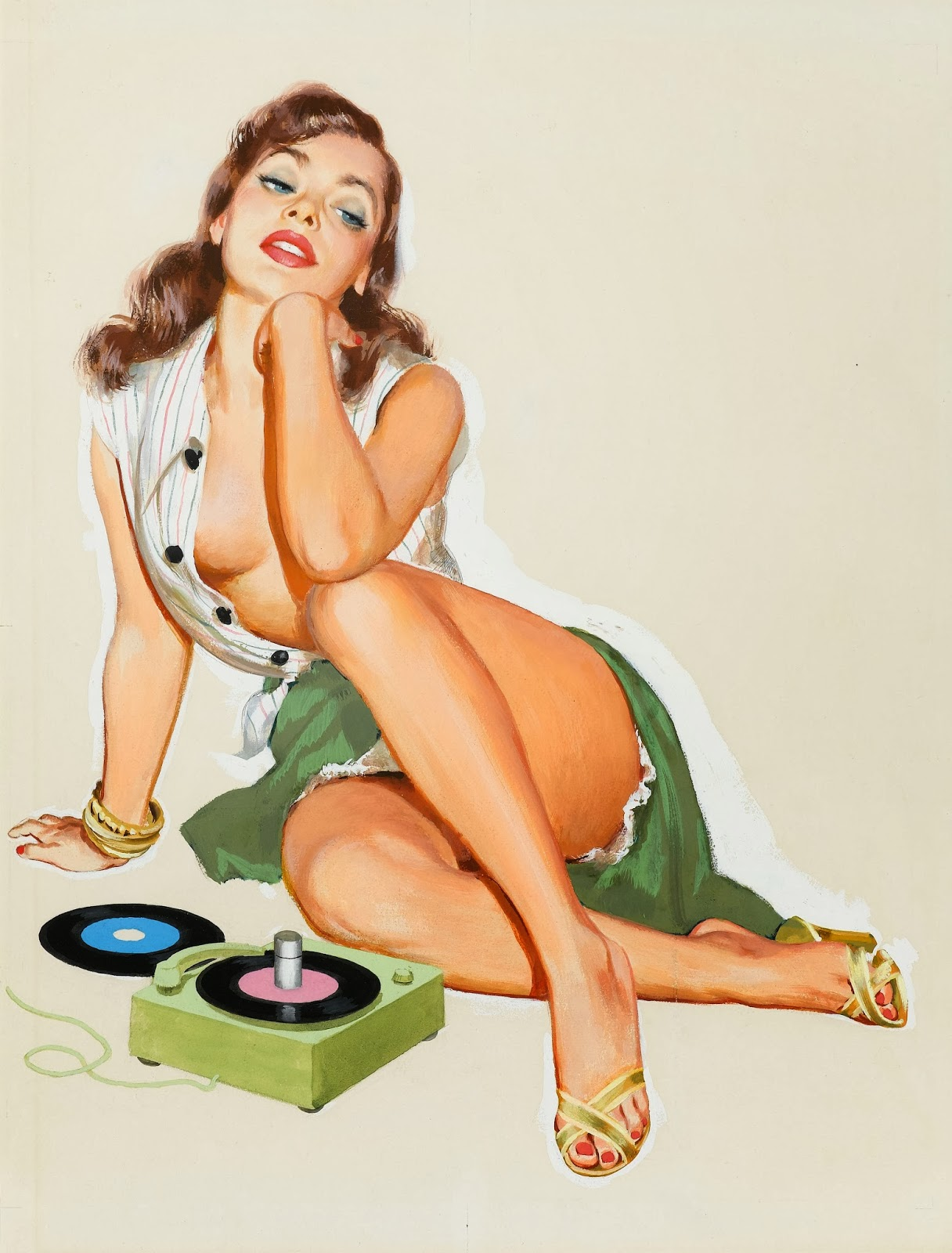 sexy cartoon pin up girls