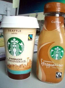 Seattle Latte frappuccino