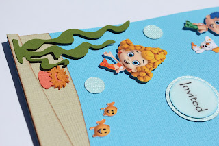 Custom Invites And Designs By Jessica Bubble Guppies Under The Sea