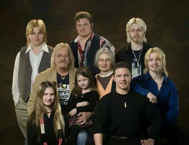 Alaskan Bush Brown People Family