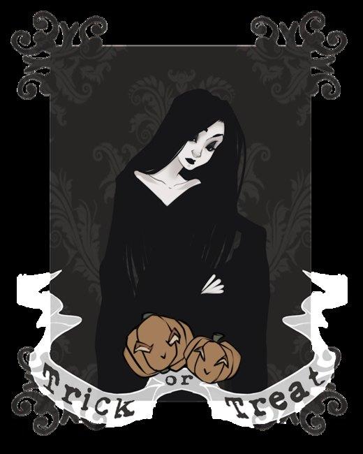 Mrs. Addams por PaolaPieretti