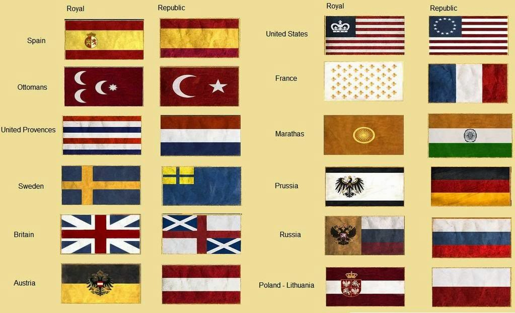 Sam S Flags Empire Total War Game Flags