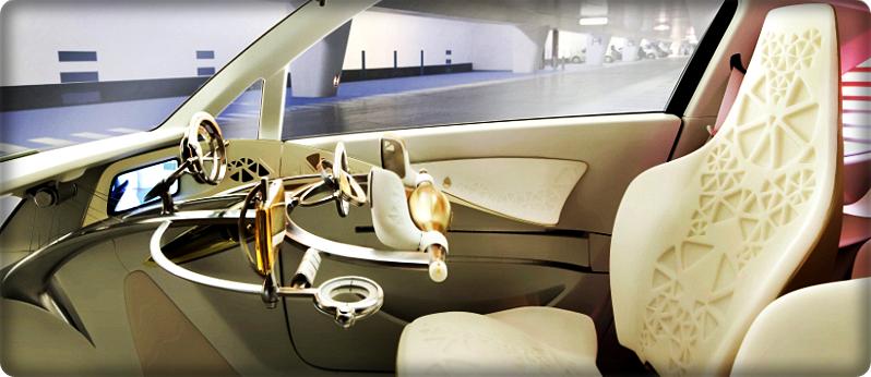 Gambar Interior Mobil Masa Depan Toyota FT-EV II