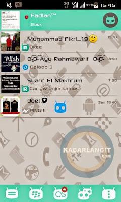 BBM Mod Cyanogen Messenger v0.2 v2.7.0.23 Terbaru