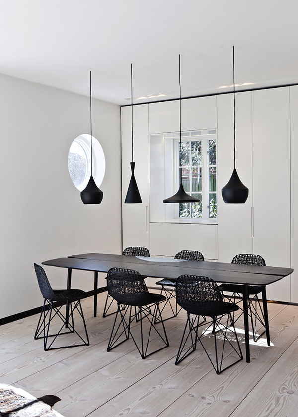 Kitchen emil jakobsen for Over dining table pendant lights