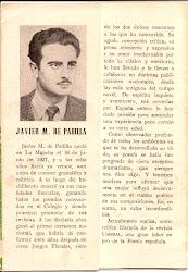 JAVIER M. DE PADILLA, NIETO DE DON FRANCISCO