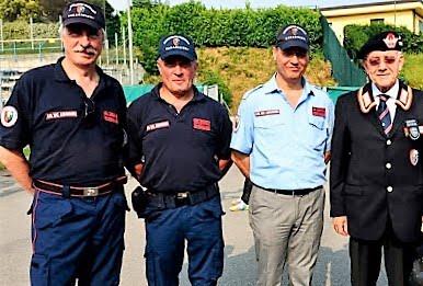 Terzo Memorial 2015. Visita dell'Ispettore ANC Regione Lombardia - Gen. N. Giovannelli.