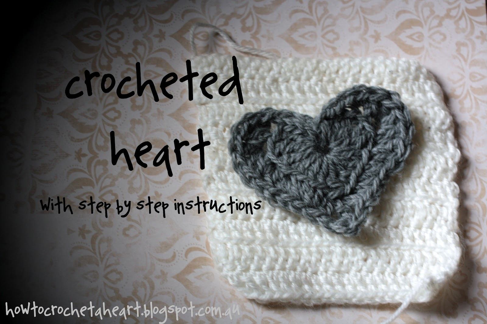 Crochet A Heart : How To Crochet a Heart: {crochet} A Heart