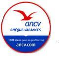 Chèques Vacances ANCV acceptés
