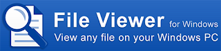 File Viewer For Windows