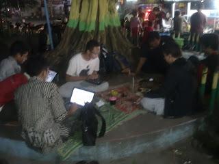 Komunitas Delta Blogger Sebagian Dari Pemuda Desa Bulang