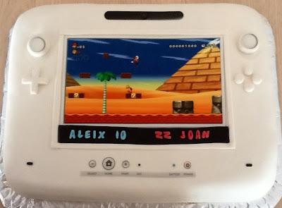 Decoración Pastel Fondant Wii U