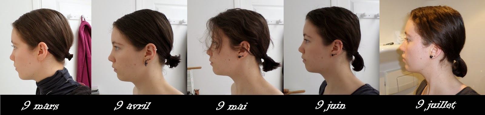 De combien pousse les cheveux en 2 mois